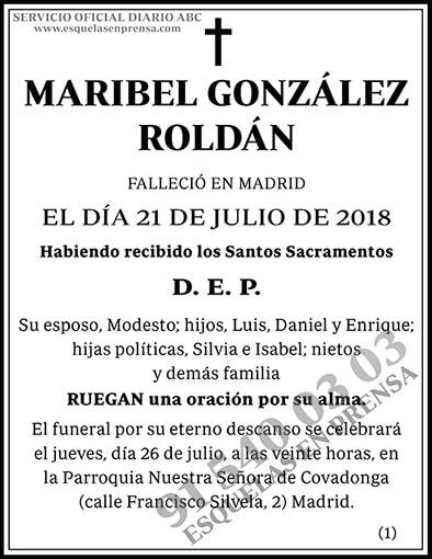 Maribel González Roldán